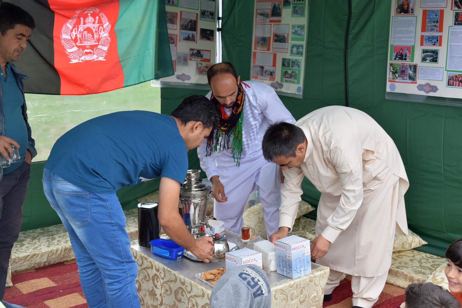 IKW Afghanisches Zelt